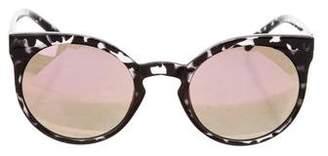 Quay Mirror Round Sunglasses