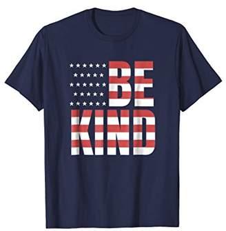American Flag Be Kind T-Shirt