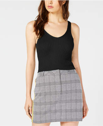 Project 28 Ribbed-Knit Cropped Tank Top
