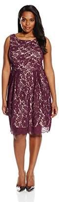 Single Dress Women's Plus Size Sleeveless Lace $99.95 thestylecure.com