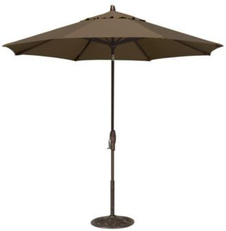 Patio Umbrella, Outdoor Bronze 9' Auto-Tilt,