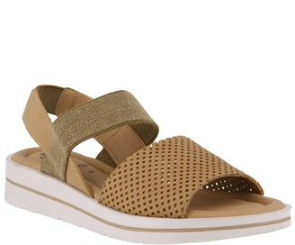 Spring Step Leather Ankle-Strap Sandals - Travel