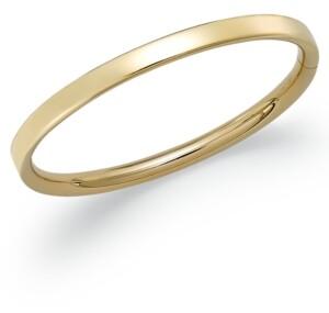 Macy's Children's Hinge Bangle Bracelet in 14k Gold