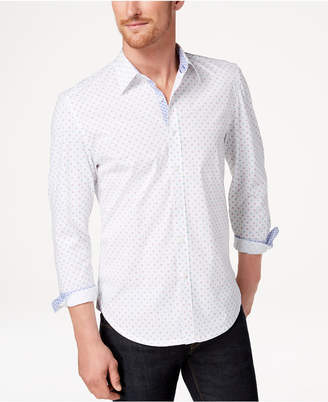 Con. Struct Men's Printed Slim-Fit Shirt, Created for Macy's
