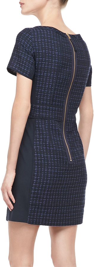 Marc by Marc Jacobs Cacey Fitted Tweed Dress