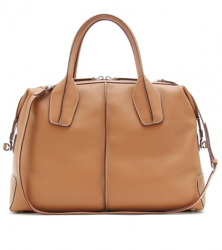 Tod's D-STYLING BAULETTO MEDIO LEATHER TOTE