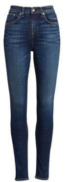 Rag & Bone Elton High-Rise Skinny Medium Wash Jeans