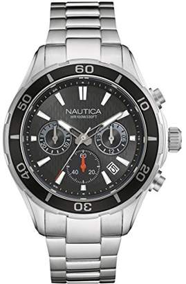 Nautica Men's 'NST 12' Quartz Stainless Steel Casual Watch