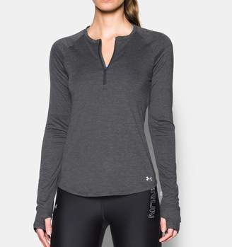 Under Armour Women's UA Fly-By 1/2 Zip