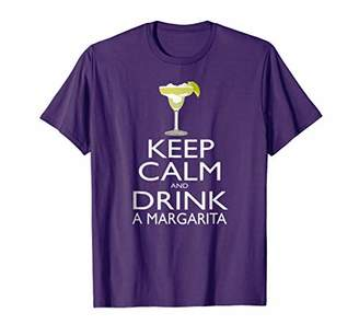 Margarita Lover Tee: Keep Calm and Drink a Margarita T-Shirt