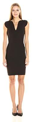 French Connection Women's Lolo Classic Stretch Bodycon Sleeveless Dress