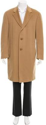 Canali Wool & Cashmere-Blend Overcoat