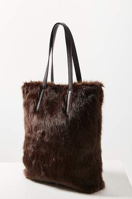 Urban Outfitters Faux Fur Tote Bag
