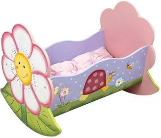 Fantasy Fields by Teamson Magic Garden Doll's Rocking Bed