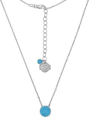 Kohl's North Carolina Tar Heels Sterling Silver Crystal Disc Necklace