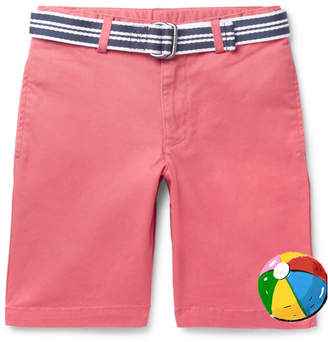 Polo Ralph Lauren Boys Ages 8 - 10 Stretch-cotton Twill Shorts