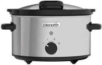 Crock Pot Crock-Pot 3.5L Hinged Lid Stainless Steel Slow Cooker CSC044