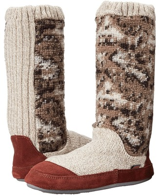 Acorn - Slouch Boot Women's Slippers $65 thestylecure.com