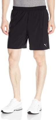 "Puma Men's Core-Run 7"" Shorts, Black"