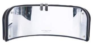 Maison Margiela Mirror-Paneled Leather Clutch
