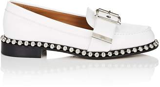Chloé Women's Chain-Embellished Leather Loafers