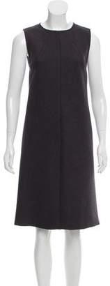 Bottega Veneta Virgin Wool Shift Dress