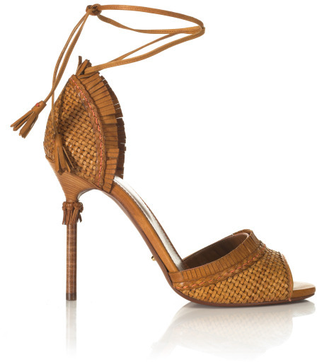 Sergio Rossi Kalhari Woven Sandal