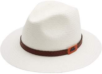 Classic Italy Men's Traveller Panama Cuenca Fedora Hat Size 59 Cm
