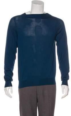 Louis Vuitton Cashmere Mock Neck Sweater blue Cashmere Mock Neck Sweater