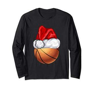 Basketball Santa Family Matching Group Christmas Shirt