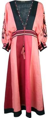 DAY Birger et Mikkelsen Vita Kin deep V-neck tassel dress