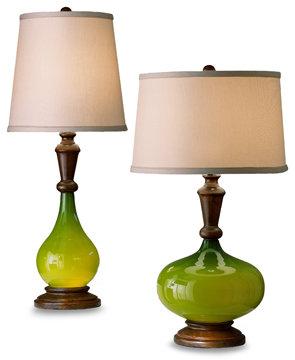 Campari Green Table Lamps
