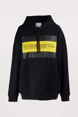 Calvin Klein Est. 1978 Est. 1978 logo hoodie