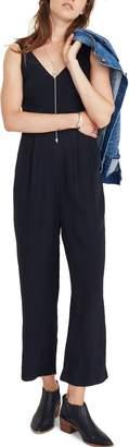 Madewell V-Neck Jumpsuit
