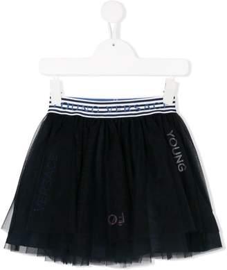 Versace tulle skirt