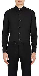Paul Smith Men's Cotton-Blend Poplin Dress Shirt - Black