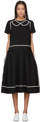 Comme des Garcons Black Trompe LOeil Dress