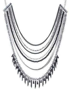 ABS by Allen Schwartz Black Magic Multi-Row Necklace