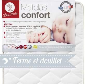 Camilla And Marc Lilou Miaka Matelas Confort - Enveloppe Et Mousse 100% Hygiène - 60 x 120 x 12 cm