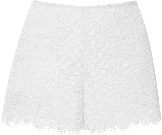 AlexisAlexis Ivory Gigi Lace Shorts