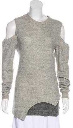3.1 Phillip Lim Cold-Shoulder Knit Top