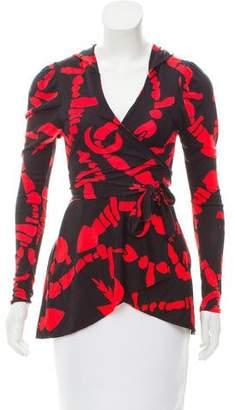 Mara Hoffman Silk Print Top