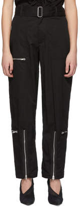 Helmut Lang Black Flight Trousers
