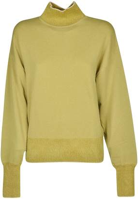 Alberta Ferretti Mock Neck Sweater