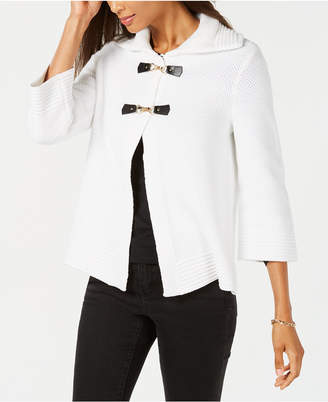 JM Collection Wing-Collar Flyaway Cardigan, Created for Macy's