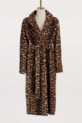 Yves Salomon Lacon shearling coat
