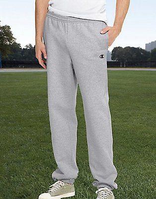 Champion Eco Fleece Elastic-Hem Men's Sweatpants Gym Clothes