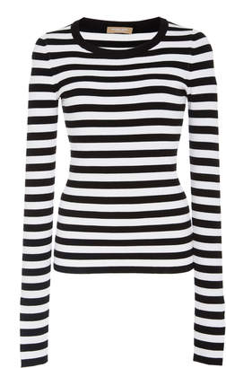 Michael Kors Striped Jersey Sweater