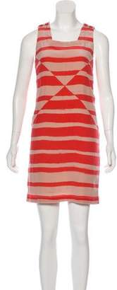 See by Chloe Striped Mini Dress