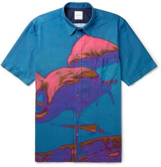 e7e12fad Paul Smith Men Print Shirt - ShopStyle